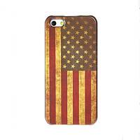 Чехол для iPhone 5/5S флаг ретро стиль - Американский флаг