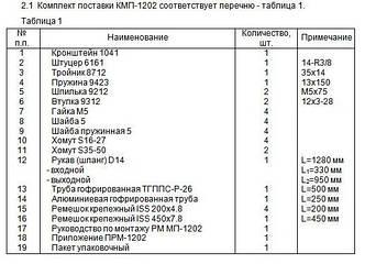 Монтажный комплект Северс М, № 1202 Great Wall Hover 2012 г.в., с дв. 4G63S4M (2,0 л), МКПП