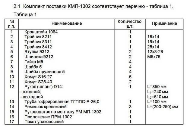Монтажный комплект Северс М, № 1302 Daewoo Matiz 2006 г.в., дв. F8CV, (0,8 л), МКПП