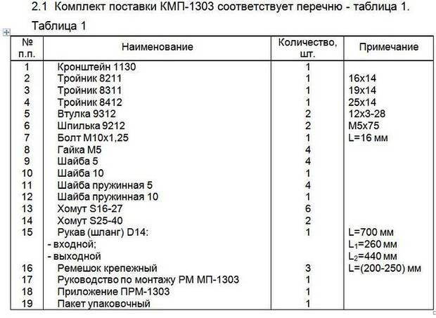 Монтажный комплект Северс М, № 1303 Daewoo Matiz 2006 г.в., дв. F8CV, (0,8 л.), АКПП Вес: не указано