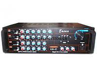 Усилитель мощности звука AMP K8, звуковой усилитель + караоке на 2 микрофона