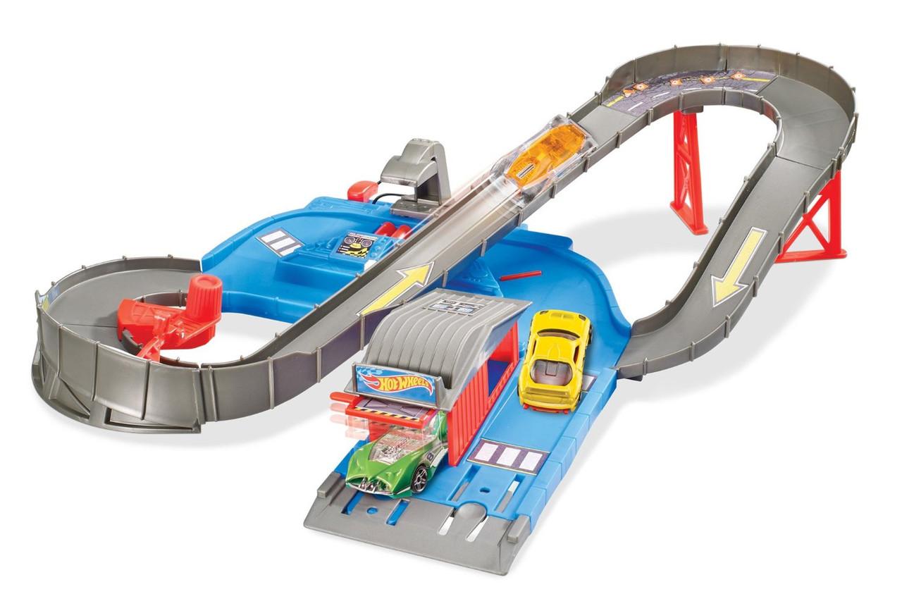 Трек Хот Вилс Город Спидвей Городская трасса Hot Wheels City Speedway Trackset
