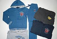 Трикотажный костюм - тройка с начесом для мальчиков S&D 12лет