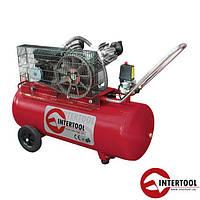 Компрессор 100л, 4HP, 3кВт, 220В, 8атм, 500л/мин, 2 цилиндра (PT-0014)