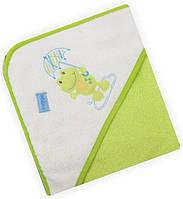 Полотенце Baby Mix CY-16 Green Лягушка.
