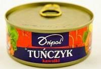 Тунец дробленный Tunczyk Dripol 170г