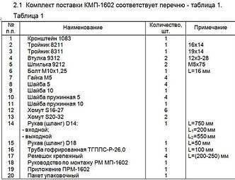 Монтажный комплект Северс М, № 1602 Fiat Punto 2007 г.в., дв. 350A1000, (1,4 л), МКПП