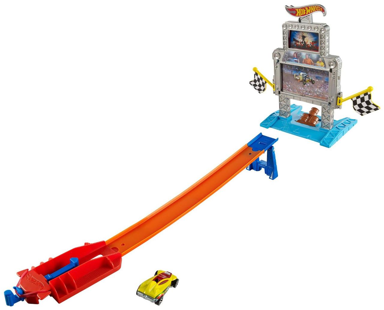 Трек Хот Вилс Тройная мишень Hot Wheels Triple Target Takedown Track Set