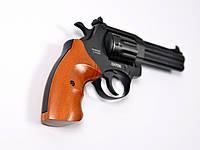 Револьвер под патрон Флобера РФ-441 с буковой рукояткой