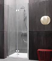 Отдельные складывающиеся  душевые дверцы - левая Kolpa-San Terra TV/S 90/K-L silver 534013