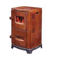 Чугунная конвекционная печь EM-5151 Duval SUREL коричневая