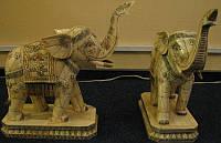 Слоны  перв. пол.ХХ века слоновая кость