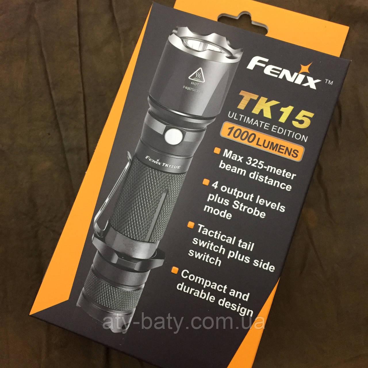 Тактический фонарь Fenix TK15 UE