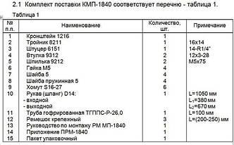 Монтажный комплект Северс М, № 1840 Isuzu NKR-55 2007 г.в., дв. 4JB1-TC (2,8 л), МКПП Вес: не указано