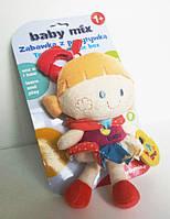 Плюшевая музыкальная игрушка Девочка BABY MIX