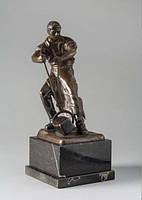 Скульптура Металург  Е.Saalmann нач.ХХ века бронза