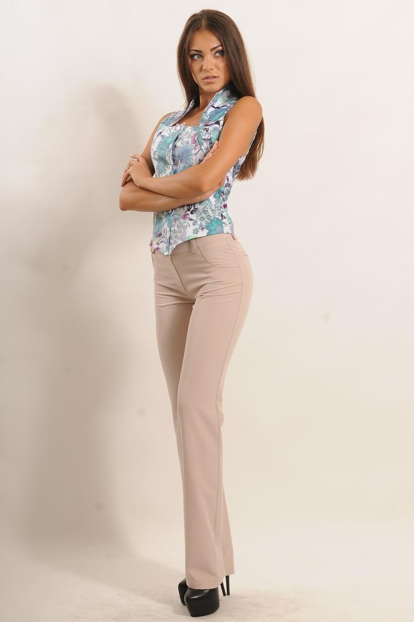 Классические прямые женские брюки Klassik (42–52р) в расцветках