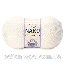 Nako Pure Wool 3,5 (Пур вул) 2378 100%шерсть