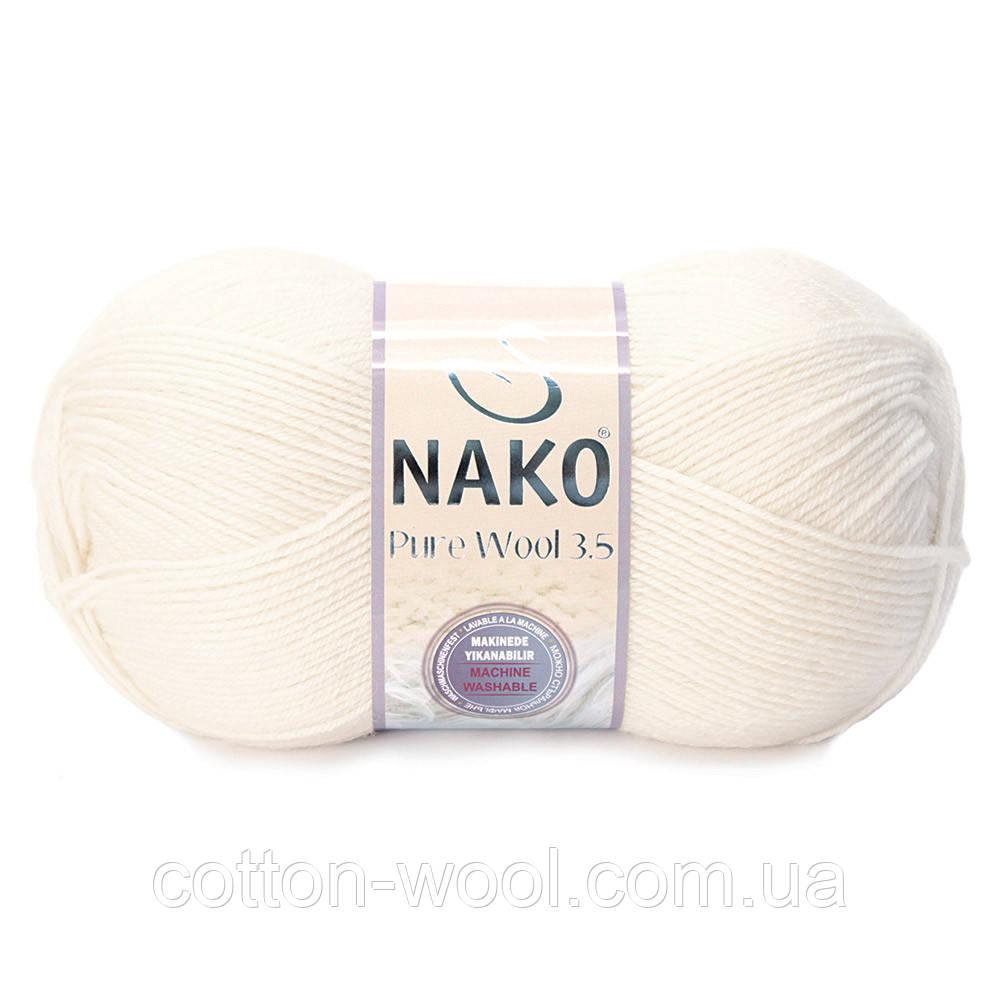Nako Pure Wool(Пур вул) 2378 100%шерсть