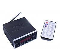 Звуковой усилитель с пультом AMP MD 50 UKC, портативный усилитель мощности звука
