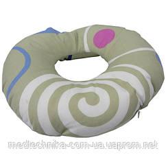 Противопролежневая затылочная подушка Лежебока, 32x32 см