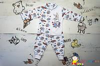 Детский комплект мальчику из кофточки и штанишек
