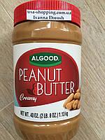 Кремовая арахисовая паста ALLGOOD, 1.13кг, фото 1