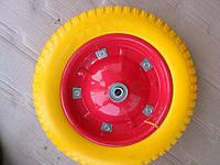 Колесо для тачки 3.00-8 под ось 16 мм силикон