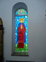Витраж Святой Людмилы Чешской