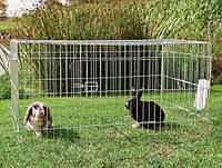 Вольер загон с крышей ограждение для животных 116х76х54см TRIXIE