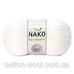 Nako Pure Wool 3,5 (Пур вул) 208 100%шерсть