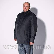 Куртка большие размеры демисезонная, фото 3