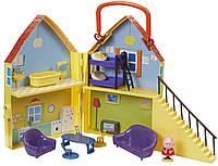 Игровой набор Peppa ДОМ ПЕППЫ домик с мебелью, фигурка Пеппы (20835)