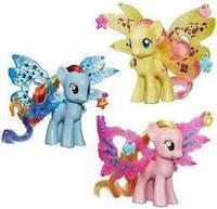 """My Little Pony  Май Литл Пони Рейнбоу Дэш """"Делюкс"""" с волшебными крыльями B0671"""