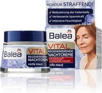 Восстанавливающий ночной крем для зрелой кожи  BALEA Anti-falten nachtcreme Q10, 50 мл