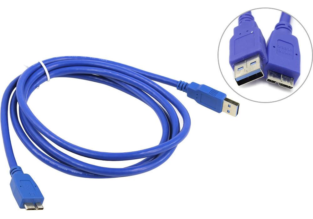 Кабель USB 3.0 - micro USB Note 3, 1,5 m