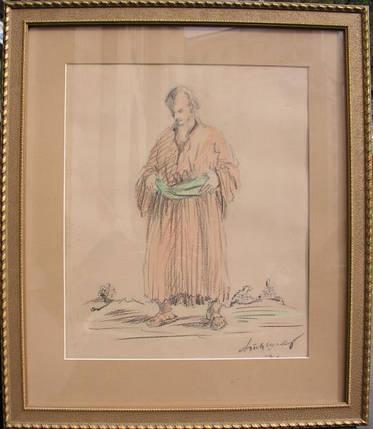 Картина Эскиз костюма Тышлер А.Г. 1938 год, фото 2