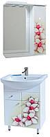 """Комплект мебели для ванной комнаты """"Орхидея"""" (правый )"""