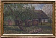 Картина Украинский пейзаж. 1922 год Биликовская Н.