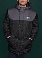 Зимняя куртка,парка мужская STUSSY Winter Parka Jacket
