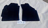 Коврики в салон резиновые Politera 2шт. для Chery QQ 6 2006-2010