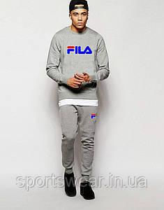 """спортивный костюм FILA  серый """""""" В стиле Fila """""""""""