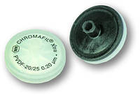 Фильтры на шприцы Тип PVDF-20/25 Размерпор 0,20 мкм Диаметрмембраны 25 мм Окраскаверхнейчасти с меткой Окрасканижнейчасти