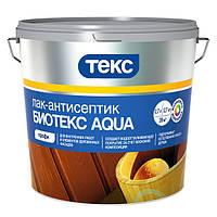 """Лак антисептик Текс Биотекс """"Aqua"""", 2,7 л (махагон) (4601541168646)"""