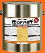 Мастика  бутил - каучуковая IZOFAST®, 20 кг