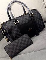 Модная сумка Louis Vuitton Луи Виттон черная, фото 1