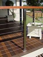 Ограждения лестничные из нержавеющей стали с деревянным поручнем, артикул 02-06-0002