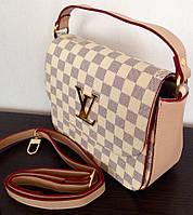 Сумка Louis Vuitton клатч цвет белый, фото 1