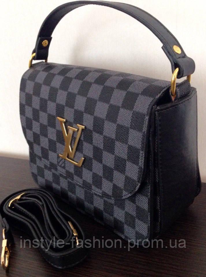 Сумка Louis Vuitton клатч Луи Виттон цвет черный
