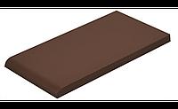 Подоконная плиткa Коричневая 245х135х13 мм